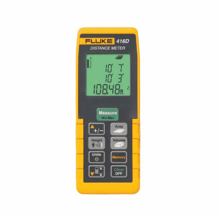 Moisture Probe For Fluke Multimeter : Fluke d laser distance meter advanced from cole parmer