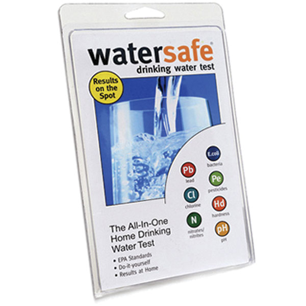 Useful Home Articles Drinking Water Hand Pump For Bottled: Watersafe WS 425B Drinking Water Test Kit Single Use From