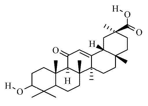 Glycyrrhetinic acid; Enoxolone; Glycyrrhetic Acid