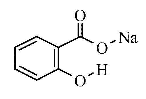 salicylic acid sodium salt p a 250g from cole