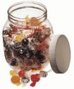 Representative photo only Wide Mouth PET Jars 960 mL 32 oz 12 Pk