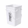 WZ-06275-01 Square high-density polyethylene pail, 4-1/4 gallon