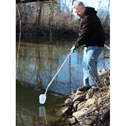 Representative photo only 1000 mL Dipper with Extendable Handle up to 9 ft