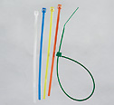 Representative photo only 40 Pound Ladder Design Nylon Cable Zip Ties 11 L White 1000 Pk
