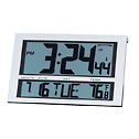 EW-08683-15 Large Digit Radio Atomic Clock with Six Time Zones
