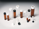 Representative photo only Glass Vials PTFE Lined Cap Clear 40 ml 100 pk