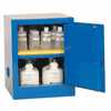 RK-09419-03 Benchtop Acid Storage Cabinet, Manual-Latching Door, 4 Gallon