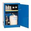 RK-09419-05 Space Saver Acid Storage Cabinet, Manual-Latching Door, 12 Gallon