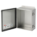 EW-10502-23 Hoffman A1212CHNFSS Stainless Steel Junction Box, Continuous Hinge, type 4X