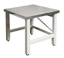 Speirs Robertson AMTS Stainless Steel Top Laboratory Work Table 75x75cm (Representative photo only)