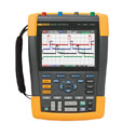 Representative photo only Fluke 190 202 Oscilloscope Handheld 2 Channel 200 MHz color