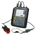 EW-20042-20 AEMC<small><sup>®</sup></small> Model OX7204III, Handheld Oscilloscope, 200 MHz, 4 Channel, 2.5 GS/s sample rate