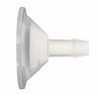 "EW-31513-15 Barbed to sanitary adapter, 3/8"" to 1-1/2"", animal-free polypropylene"