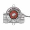Representative photo only Sight Flow Indicator Clear PC 3 to 35 GPM 3 4 NPT F