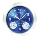 Representative photo only Thermohygrometer Wall Clock