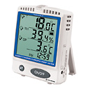 Representative photo only Cole Parmer Digital Thermohygrometer with Dew Point and Memory Card