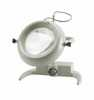 Representative photo only Large Diameter Illuminated Benchtop Magnifier 2x magnification