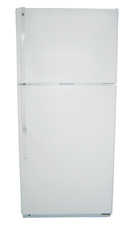 Refrigerator Freezer Basic use 15 7 cu ft  (Representative photo only)