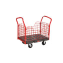 WZ-47200-28 RUBBERMAID PLATFORM TRUCK WITH REMOVABLE SIDE PANELS, 68 X 30, WITH 8
