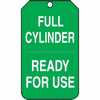 "WZ-50503-22 Tag, Full Cylinder Ready For Use, 5 7/8"" X 3 1/8"", PF-Cardstock"