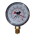 EW-59620-62 Carver Press 381002 Low Pressure Gauge; 0 to 2000 psi