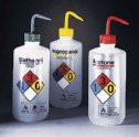 Thermo Scientific Nalgene Isopropanol Right to Know wash bottles 500 mL 6 Pk (Representative photo only)