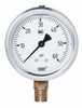 Representative photo only NSF Certified Pressure Gauge 0 to 100 PSI Bottom Mount 1 4 NPT M Connection