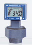 Representative photo only Digital Ultrasonic Barrel and Drum Level Gauge 55 gal Drum