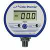 Cole Parmer Battery powered Digital Gauge 0 to 100 PSI 1 4 NPT M  (Representative photo only)