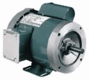 General purpose Single phase TEFC ODP NEMA Type C face Motor 1 2 Hp 3600 RPM (Representative photo only)