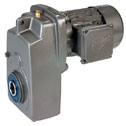 EW-70030-11 Gear Drive System providing turndowns for 1800 to 3600 rpm motors, 0.16 hp, 56C face mount