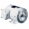 Representative photo only Washdown Duty NEMA Type C face Rigid Base Single phase Motor 1 3 Hp 1800 RPM
