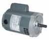 Single Phase ODP Motor 56C Rigid Base 0 75 HP 1800 rpm 115 208 230 V (Representative photo only)