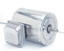 WZ-71015-10 Stainless Steel NEMA Type C-face Rigid Base Three-phase Motor, 1/3 Hp, 3600 RPM