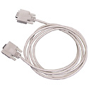 2 Meter Communication Cable RS232 9 Pin D Sub  (Representative photo only)