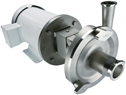 Representative photo only Sanitary Centrifugal Pump Heavy Duty 50 GPM 1 HP Stainless Steel Motor 3600 RPM
