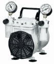 EW-79204-00 Standard Duty Dry Vacuum Piston Pumps, 22 L/min, 115 VAC
