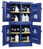 RK-81773-04 Acid And Corrosive Cabinets, 44 Gal, Blue