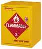 SciMatCo Flammable Storage Cabinet 4 gallon capacity self closing door (Representative photo only)