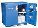 RK-81790-10 Justrite<small><sup>®</sup></small> HDPE Full-size Acid Storage Cabinet, 83 L