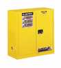 RK-81790-44 Justrite Sure-Grip<small><sup>®</sup></small> EX Flammable Storage Safety Cabinet, 30 gallons, Manual Closing Door