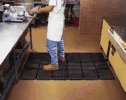 Representative photo only Wearwell Modular Worksafe Antifatigue Mats Grease resistant Mat 3 x3