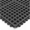 24 Seven Modular Nitrile Grit Works Mat Open 3 ft x 3 ft (Representative photo only)