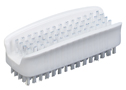 Representative photo only Plastic Block Hand Nail Scrub Brush 1 Pk