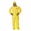 Representative photo only Tychem QC Hooded Coveralls Elastic Wrist and Ankles Serged X Large Cs 12