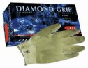 Representative photo only Microflex Diamond Grip Latex Gloves size large