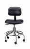 BEVCO PRECISION MFG CO -  - Cleanroom Chair ESD 16 5 to 21 5 height aluminum base