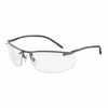Uvex by Honeywell Slate Safety Glasses Gunmetal Antifog Clear Lens (Representative photo only)