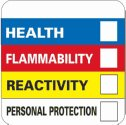 Representative photo only Hazardous Materials Identification Label 4 X 4