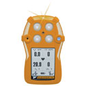 Representative photo only GasAlertQuattro 4 Gas Detector Rechargeable LEL O2 H2S CO